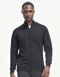 Zipped Knitted Cardigan Gordon Men